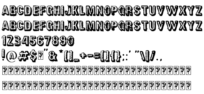 Font preview District