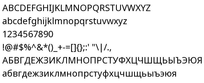 Noto Sans - free font download on AllFont net